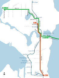 Seattle Subway Map by Splitting Route 48