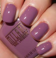 imperfectly painted new milani 2014 nail lacquer pic heavy