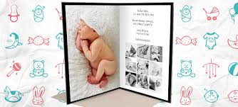 your photo your story a wonderful a3 satin card for baby s 1st