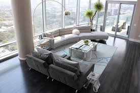 Gutsy Modern Living Room Furniture For Your Condo Home Design - Stylish living room furniture orange county property
