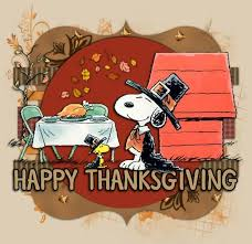 happy thanksgiving peanuts happy thanksgiving