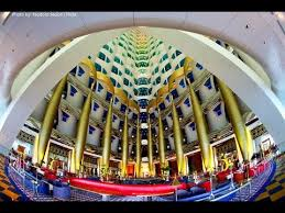 Interior Of Burj Al Arab Inside View Of Burj Al Arab And 10 Facts About It Youtube