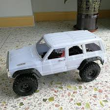 jeep cars white white modified hard rc car shell wheelbase 324mm jeep cherokee for
