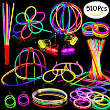 glow in the party supplies glow sticks 200 8 glow sticks 510pc glow party supplies favors