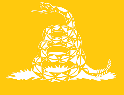 Yellow Flag With Snake High Heat Don U0027t Tread On Me Snake Vinyl Stencil 7 X