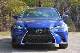 lexus is 350 blue 2017 lexus gs 350 f review gtspirit
