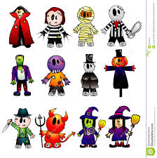 halloween vector characters stock images image 6670424