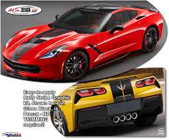 2015 corvette z06 colors corvette c7 z06 rally stripes graphics kit 2014 2018 atd