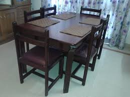 simple dining room design with india used dining room furniture