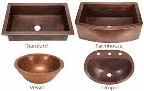 Styles Of Kitchen Sinks by Copper Sinks Buyer U0027s Guide Copper Sinks Online