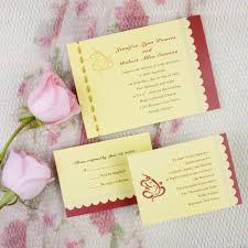 india wedding invitations traditional ganesh gold wedding invites ewi200 as low as 0 94