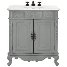 home decorators collection com home decorators collection winslow 33 in w vanity in antique grey