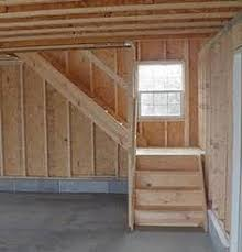 Garage Stairs Design Loft Stair Design For 12 High Walls When Barn Is Built With