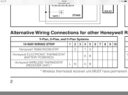 honeywell thermostat wiring instructions inside old diagram