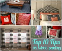 Where To Buy Upholstery Fabric Spray Paint Top Tips For Painting Fabric Infarrantly Creative