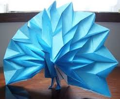 Easy Origami Peacock - origami peacock 3d make easy origami