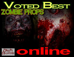 best zombie props page1 creepy collection haunted house