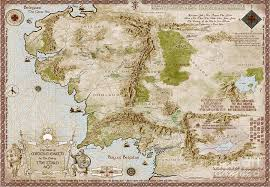 a map of middle earth map of middle earth digital by anthony forster