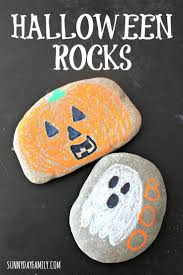 Fun And Easy Halloween Crafts by Halloween Rocks Chalk Marker Halloween Decorations