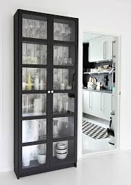 Metal Bookcase With Glass Doors Bookshelf Ikea Glass Shelves Kitchen As Well As Ikea Glass And