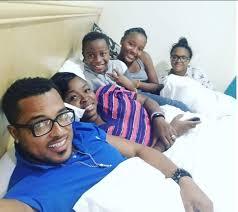 ghanaian actor van vicker van vicker shares photos of his family ghafla ghana