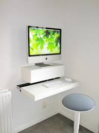 Diy Desk Ideas Cool How To Build A Wall Mounted Stand Up Desk Diydork Com