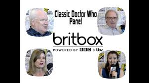 brit box classic doctor who 2017 sdcc britbox press room the fifth the