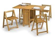 Butterfly Folding Table And Chairs Space Saving Table U0026 Chair Sets Ebay