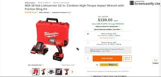 home depot black friday 2016 milwaukee tools amazing deal at home depot milwaukee impact wrench youtube