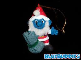 smurf ornaments smurfette ornament santa smurf