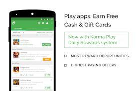 gift card reward apps appkarma rewards gift cards apps on play