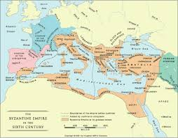 Byzantine Empire Map World History Time Line By Megan Dambrosio