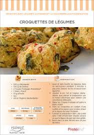 recette de cuisine pour regime recette diététique croquettes de légumes