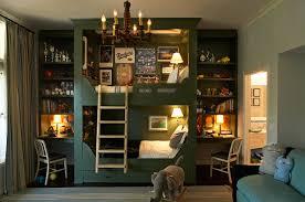 Boy Bunk Bed Built Bunk Beds Cottage Boy Room Kristen Panitch Interiors
