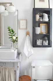 Bathroom Shelf With Hooks Small Bathroom Ideas And Solutions In Our Tiny Cape Nesting With