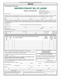 Bill Of Lading Template Excel 100 Bol Template Doc 9721198 Bill Of Lading Template Excel