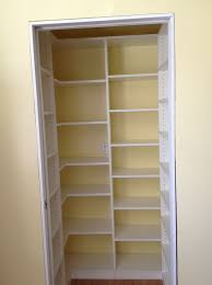 Pantry Shelving Ideas by Pantry Closet Shelving Systems Home Design Ideas