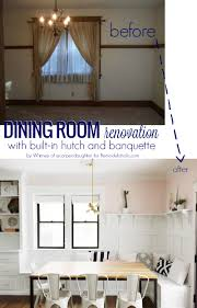 remodelaholic an ever changing dining room with banquette beautiful dining room with banquette bench it s the perfect addition for this space plus