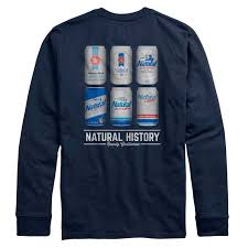 natty light t shirt light natty history rowdy gentleman long sleeve navy blue t shirt