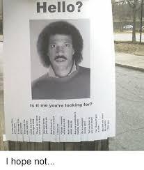 Lionel Richie Meme - 25 best memes about hello lionel richie meme hello lionel