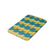 Yellow Duck Bath Rug Yellow Duck Bath Mats Rugs Zazzle