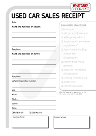 Bill Of Sale For Vehicle Template by Vehicle Invoice Template Printable Invoice Template