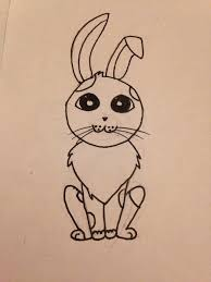 draw cute cartoon bunny snapguide