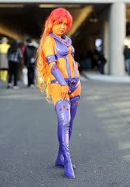 Starfire Costume 15 Amazing Cosplay Costumes From The 2014 New York Comic Con