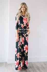 floral maxi bridesmaid dress the laikyn black floral maxi modest dress best and affordable