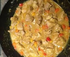 cuisiner porc sauté de porc au colombo recette de sauté de porc au colombo