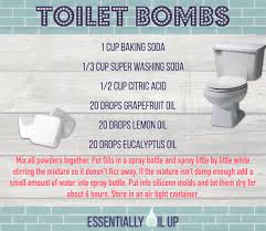 House Essentials by Diy Toilet Bombs Infused With Essential Oils Young Living