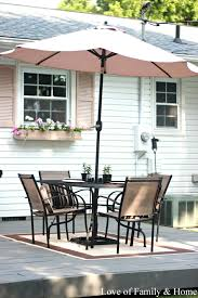 Outdoor Rugs For Deck by Back Deck Patio Reveal Love Of Family U0026 Home