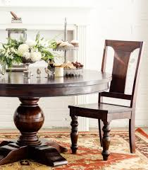 monticello round dining table u2013 downeast
