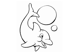 baby dolphin coloring pages getcoloringpages